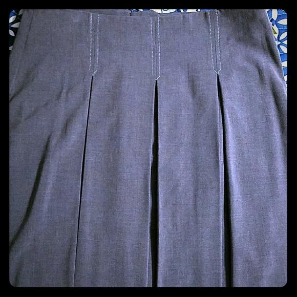 Max Studio Dresses & Skirts - Max studio pleated gray skirt